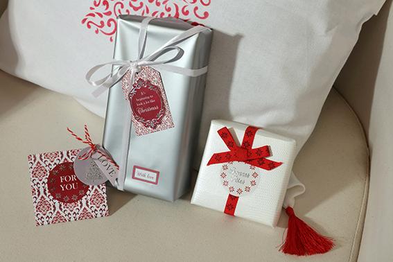 emballages cadeaux barok Noël