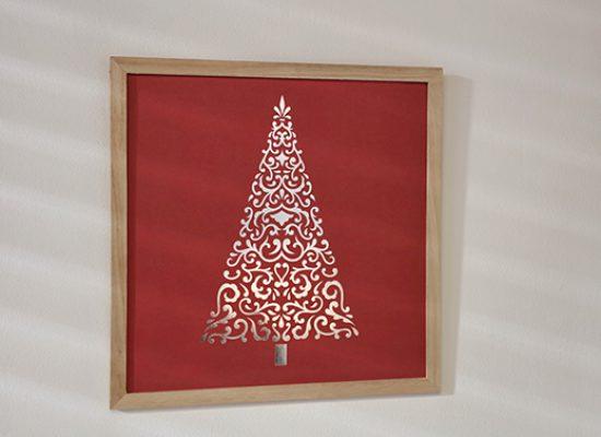 cadre sapin Barok Noël