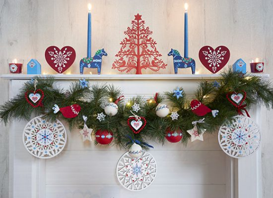 décoration Noël folk