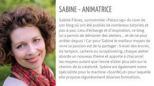 présentation Sabine