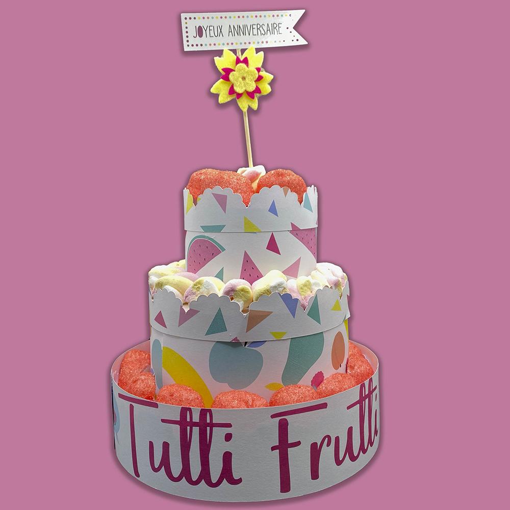 anniversaire tutti frutti